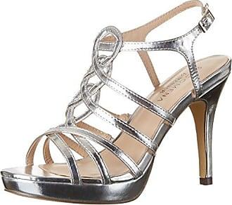 Gabón, Bride Cheville Femme - Argent - Silber (Silber), 38Paco Mena