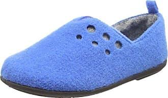 Damen Riva Flache Hausschuhe, Blau (24 Navy), 35.5 EU Padders