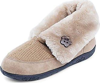 Damen Snug Pantoffeln, Beige (22 Taupe/Camel), 42 EU Padders