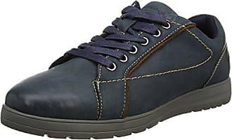 Crest, Zapatos de Cordones Oxford para Hombre, Multicolour (Tan/Cog/Camel), 43 EU Padders