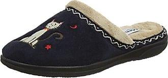 Chaussures de Saut pour Femme - Bleu - Blue (Navy/Combi), 40Padders