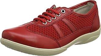 866 - Botas de Otra Piel Mujer, Color Rojo, Talla 40 Padders