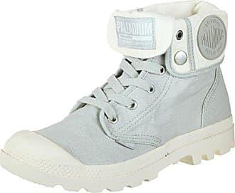 Palladium Damen Baggy Hohe Sneaker, Grau (Vapor/Blanc Whisper Pink L21), 37 EU