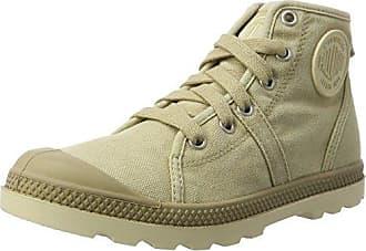 Palladium Voyage, Sneakers Basses Femme, Beige (Sahara/Marshmallow), 39.5 EU