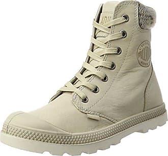 Palladium Pampa Hi Lady Canvas Ecru, Schuhe, Stiefel & Boots, Stiefel, Beige, Weiß, Female, 36