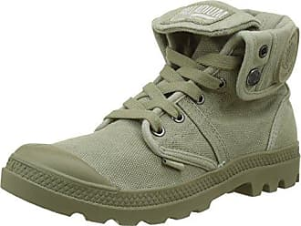 Palladium Pallabrousse Baggy, Baskets Hautes Hommes, Vert (Vetiver/Burnt Olive K81), 43 EU