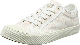 Palladium Sub Low Canvas, Zapatillas para Mujer, Gris (Rainy Day/Marshmallow L72), 37 EU