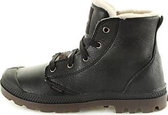Palladium Pampa Hi Leather S 92609-072-M, Damen Desert Boots, Schwarz (Black Pilot), EU 35.5 (UK 3)