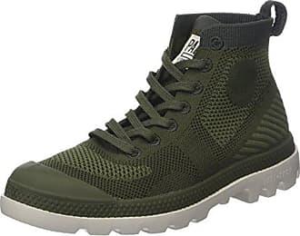 Sneakers, Baskets Hautes Homme, Vert (Bronze), 41 EUIkks