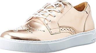 Nelly, Zapatos de Cordones Brogue para Mujer, Gris (Chrom-Silber 901), 38 EU Semler