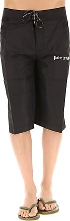 Swim Shorts Trunks for Men On Sale, Black, polyamide, 2017, 30 31 32 33 34 Palm Angels