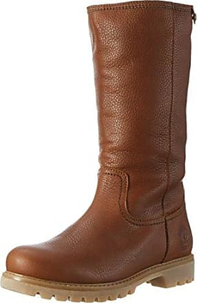 Shabbies Amsterdam Shabbies Stiefelette mit Reisverschlu?, Bottines FemmeMarron (Brick Brown), 39 EU