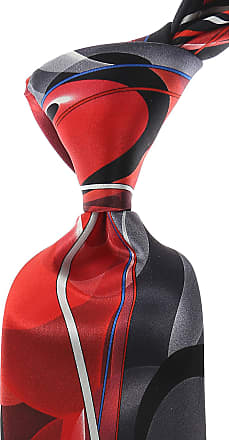 Ties On Sale, Red, Silk, 2017, one size Pancaldi