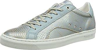 Pantofola Doro Barletta Suede Donne Low, Zapatillas para Mujer, Azul (Light Blue), 36 EU Pantofola D'oro