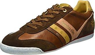 Pantofola D'oro Vasto Suede Uomo Low, Zapatillas para Hombre, Verde (Olive), 45 EU