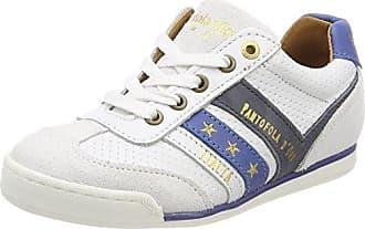 Pantofola D'oro Canaverse Ragazzi Low, Zapatillas para Niños, Blanco (Bright White), 32 EU
