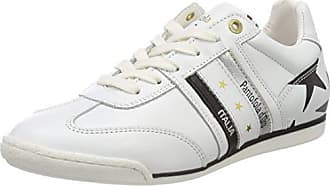 Pantofola D'ORO Damen Anna Donne Fur Mid Hohe Sneaker, Weiß (Bright White), 38 EU
