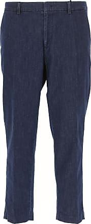 Pants for Men On Sale, Black, Cotton, 2017, 30 32 Paolo Pecora