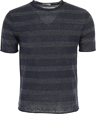 Sweater for Men Jumper On Sale, Royal Blue, Virgin wool, 2017, L M Paolo Pecora