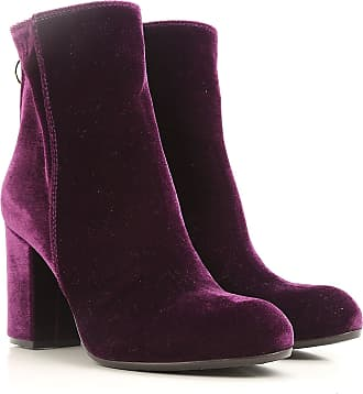 Boots for Women, Booties On Sale, Purple, Velvet, 2017, 3.5 4.5 5.5 6 PARIS TEXAS