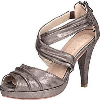 Sandalette von Patrizia Dini Veloursleder - Farbe Grau Gr. 39 Patrizia Dini lzFZt