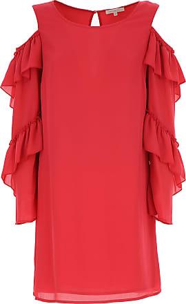Dress for Women, Evening Cocktail Party On Sale, Uniform Blue, acetato, 2017, 10 Patrizia Pepe
