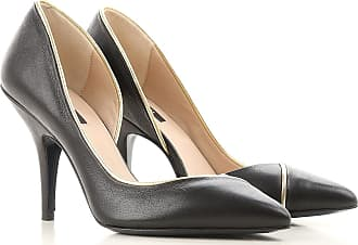 Pumps & High Heels for Women On Sale, Black, Leather, 2017, 3.5 4.5 6 7.5 Patrizia Pepe