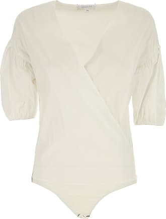 Top for Women On Sale, White, Silk, 2017, 12 8 Patrizia Pepe
