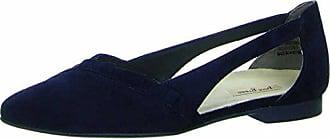Paul Green 2313-002 Damen Ballerina Lederfutter und -Innensohle Dezente Sohle, Groesse 4 1/2, Blau