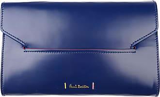 Pochette Paul Smith, Bleu-violet, Cuir, 2017, Une Taille,