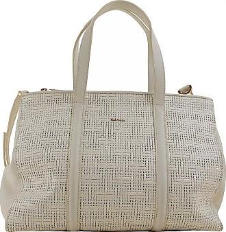 Paul Smith Top Handle Handbag, White, Leather, 2017, one size