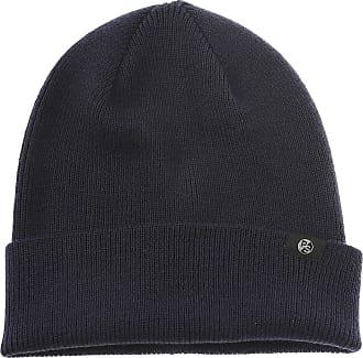 Hat for Women On Sale, Dark Ocean Blue, Wool, 2017, Universal Size Moncler
