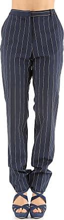 Pants for Women On Sale, Dark Blue, Virgin wool, 2017, 26 28 30 Paul Smith