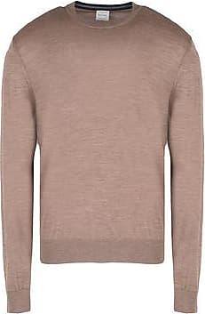 Sweater for Men Jumper On Sale, Melange Grey, Cotton, 2017, L M S Paul Smith