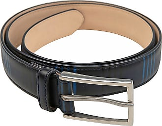 Womens Belts, Blue, Leather, 2017, 34 inches - 85 cm 38 inches - 95 cm Paul Smith