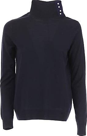 Sweater for Women Jumper On Sale, Black, Wool, 2017, 8 Paul Smith