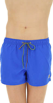 Swim Briefs for Men On Sale, Black, Polyestere Recycled, 2017, S Paul Smith