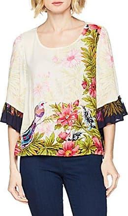Peace&Love by Calao IC7335B, Blusa para Mujer, Multicolor (Unico), Small (Tamaño del Fabricante:S)