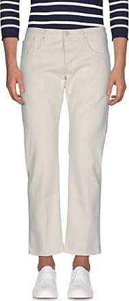 Pants for Men On Sale, Ivory, Cotton, 2017, 32 Entre Amis