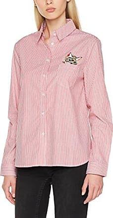Pepaloves 108717, Camisa para Mujer, Rojo (Red), 40 (Tamaño del Fabricante:M)