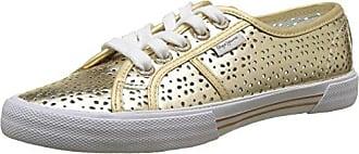 Pepe Jeans London Gable Gold, Zapatillas Mujer, Dorado (Gold), 37 EU
