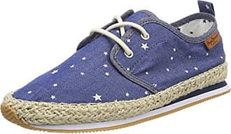 Pepe Jeans London Babel W Stars, Sneakers Basses Femme, (Marine), 37 EU
