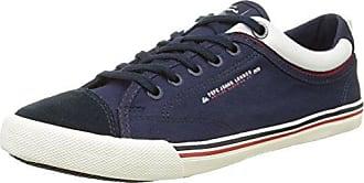 London Harry Elastic Birds, Herren Sneakers, Blau (572FORCES), 41 EU Pepe Jeans London