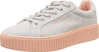 London, Sneakers Basses Femme, Blanc (White), 41 (EU)Pepe Jeans London