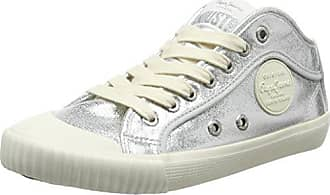London, Sneakers Basses Femme, Blanc (Off White), 36 (EU)Pepe Jeans London