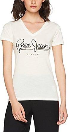 Pepe Jeans London Brenda, Camiseta para Mujer, Azul (Dulwich), X-Small