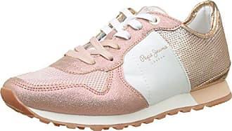 Pepe Jeans London Verona W Cracked, Sneakers Basses Femme, (Factory Pink), 37 EU