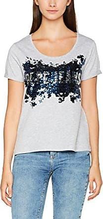 Pepe Jeans London Donna, Camiseta para Mujer, Gris (Middle Grey), Medium