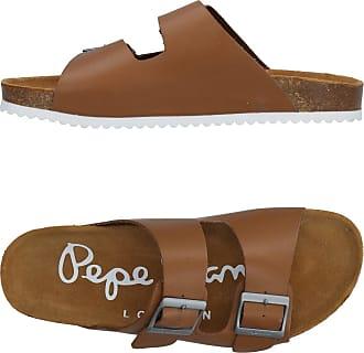 Sandales Cuir de Veau Large BouclePepe Jeans London SeQ1AJ