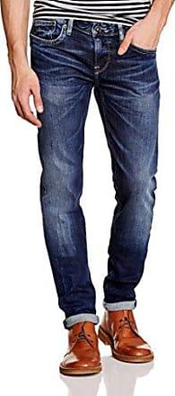 Cash PM200124M84200029, Jean Slim Homme, Bleu (Denim-M842) W29 (Taille Fabricant:29)Pepe Jeans London
